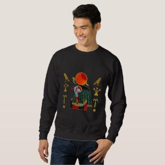 Sweatshirt Ornement coloré de Horus d'Egyptien