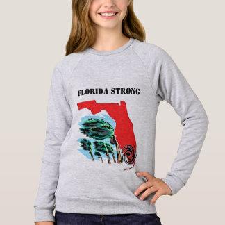 Sweatshirt Ouragan Irma la Floride forte