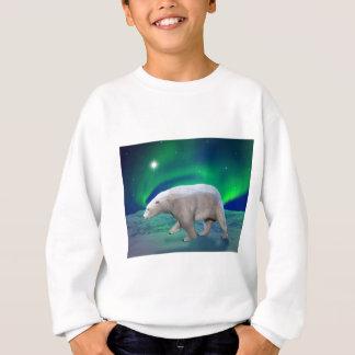 Sweatshirt Ours blanc