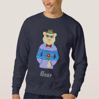 Sweatshirt ours de geek