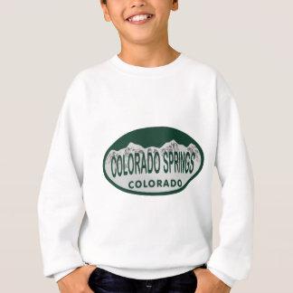 Sweatshirt Ovale de permis de Colo Spgs