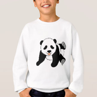 Sweatshirt Panda idiot