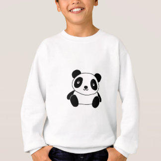 Sweatshirt Panda mignon