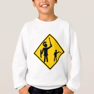 Sweatshirt Panneau routier David et Goliath