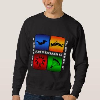 Sweatshirt Parachutisme spectaculaire