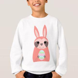 Sweatshirt Paresse rose de lapin de Pâques