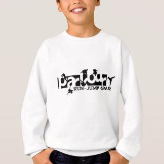 Sweatshirt Parkour - courez, sautez, montez