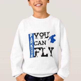 Sweatshirt Parkour - vous pouvez voler