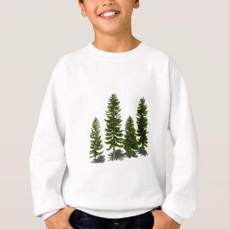 Sweatshirt Parmi les plantes vertes