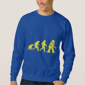 Sweatshirt Parodie d'évolution