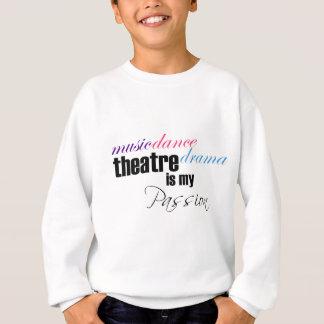 Sweatshirt Passion de théâtre