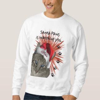 Sweatshirt Pattes de Père Noël