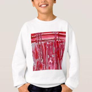 Sweatshirt paysage cramoisi 121517 d'hiver