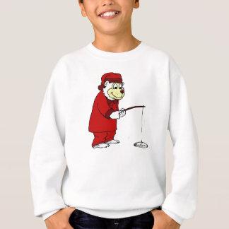 Sweatshirt Pêche polaire de glace dans des pyjamas