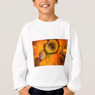 Sweatshirt Peinture organique contemporaine de cellules