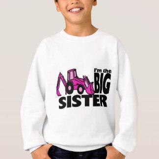 Sweatshirt Pelle rétro de grande soeur