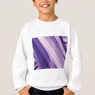 Sweatshirt pentes pourpres