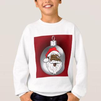 Sweatshirt Père Noël font face à l'ornement 2