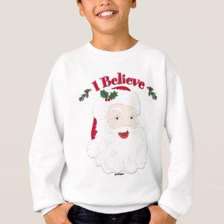 Sweatshirt Père Noël vintage je crois Noël