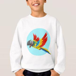 Sweatshirt perroquet