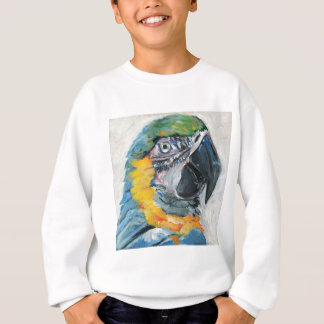 Sweatshirt Perroquet bleu