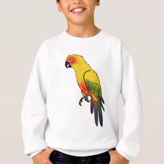 Sweatshirt Perroquet coloré