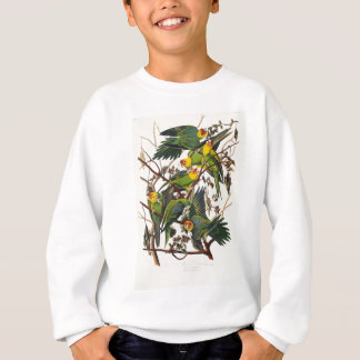 Sweatshirt Perroquet de la Caroline - John James Audubon