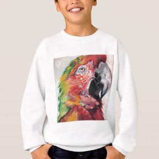 Sweatshirt Perroquet rouge