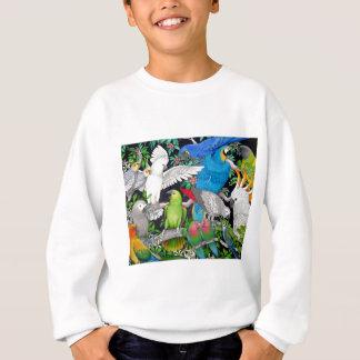 Sweatshirt Perroquets du monde