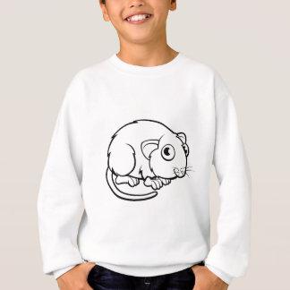 Sweatshirt Personnage de dessin animé de campagnol