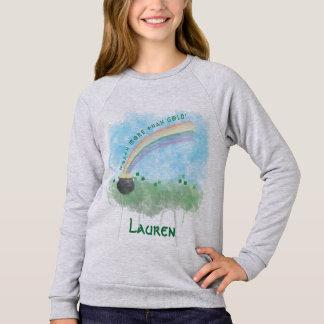 Sweatshirt Personnalisable en valeur plus que le jour de St