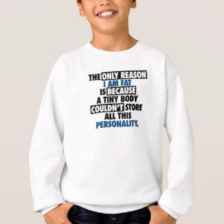 Sweatshirt Personnalité impressionnante de grand corps