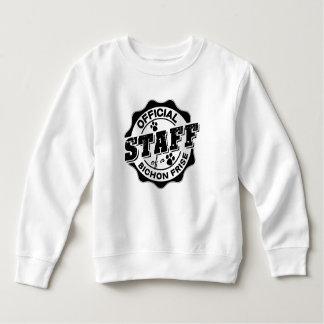 Sweatshirt Personnel officiel d'un Bichon Frise