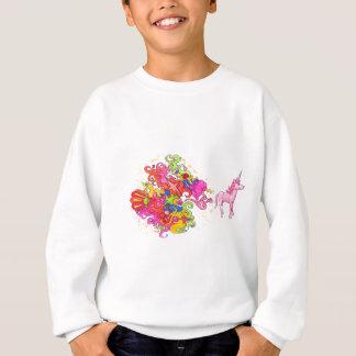 Sweatshirt Pet de licorne