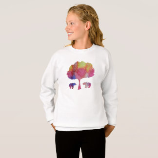 Sweatshirt Petits animaux d'ours