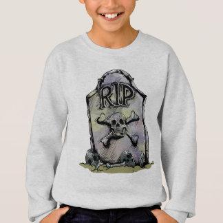 Sweatshirt Pierre tombale ou pierre tombale d'aquarelle de