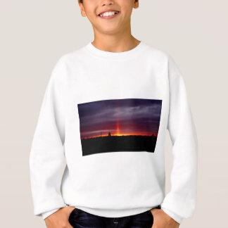 Sweatshirt Pilier du feu au coucher du soleil, île de St