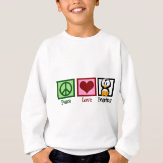 Sweatshirt Pingouins d'amour de paix