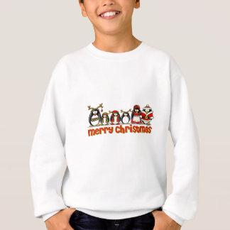 Sweatshirt Pingouins de Joyeux Noël