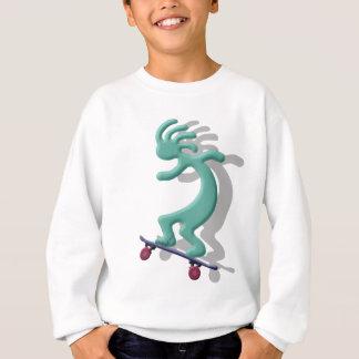 Sweatshirt Planche à roulettes de Kokopelli