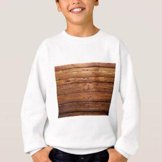 Sweatshirt plancher en bois