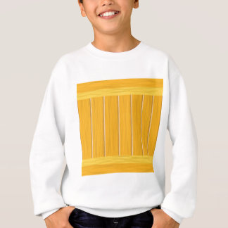 Sweatshirt planches en bois