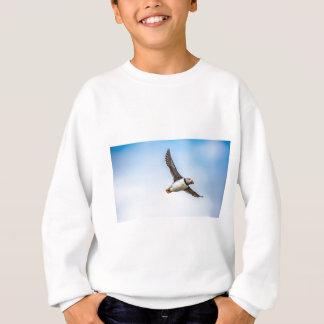 Sweatshirt Plume de mouche de faune de vol de mer d'oiseau de