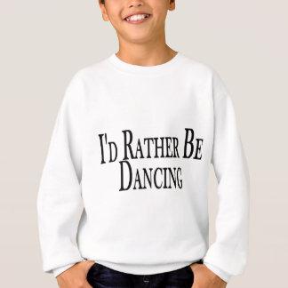 Sweatshirt Plutôt danse