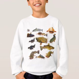 Sweatshirt Poisson-chat de pêche