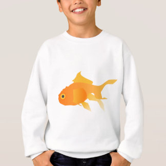 Sweatshirt Poisson rouge