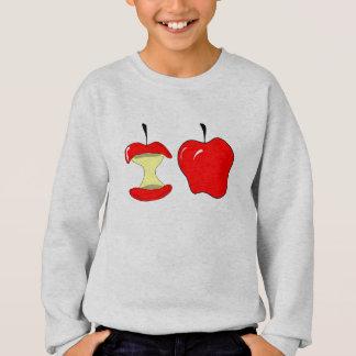 Sweatshirt pommes savoureuses