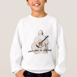 Sweatshirt pope star