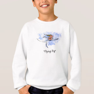 Sweatshirt Porc de vol - athlète frais de porc de sauter de