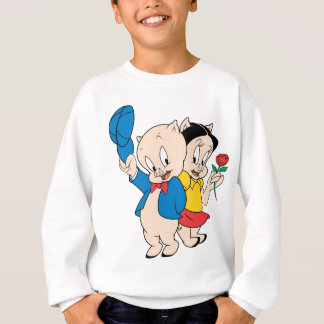 Sweatshirt Porc gros et pétunia